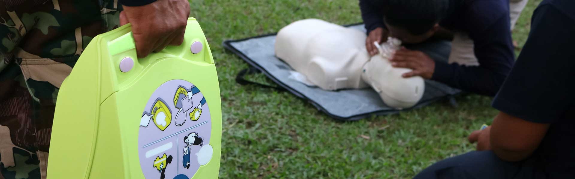 Safe Use of an AED Defibrillator